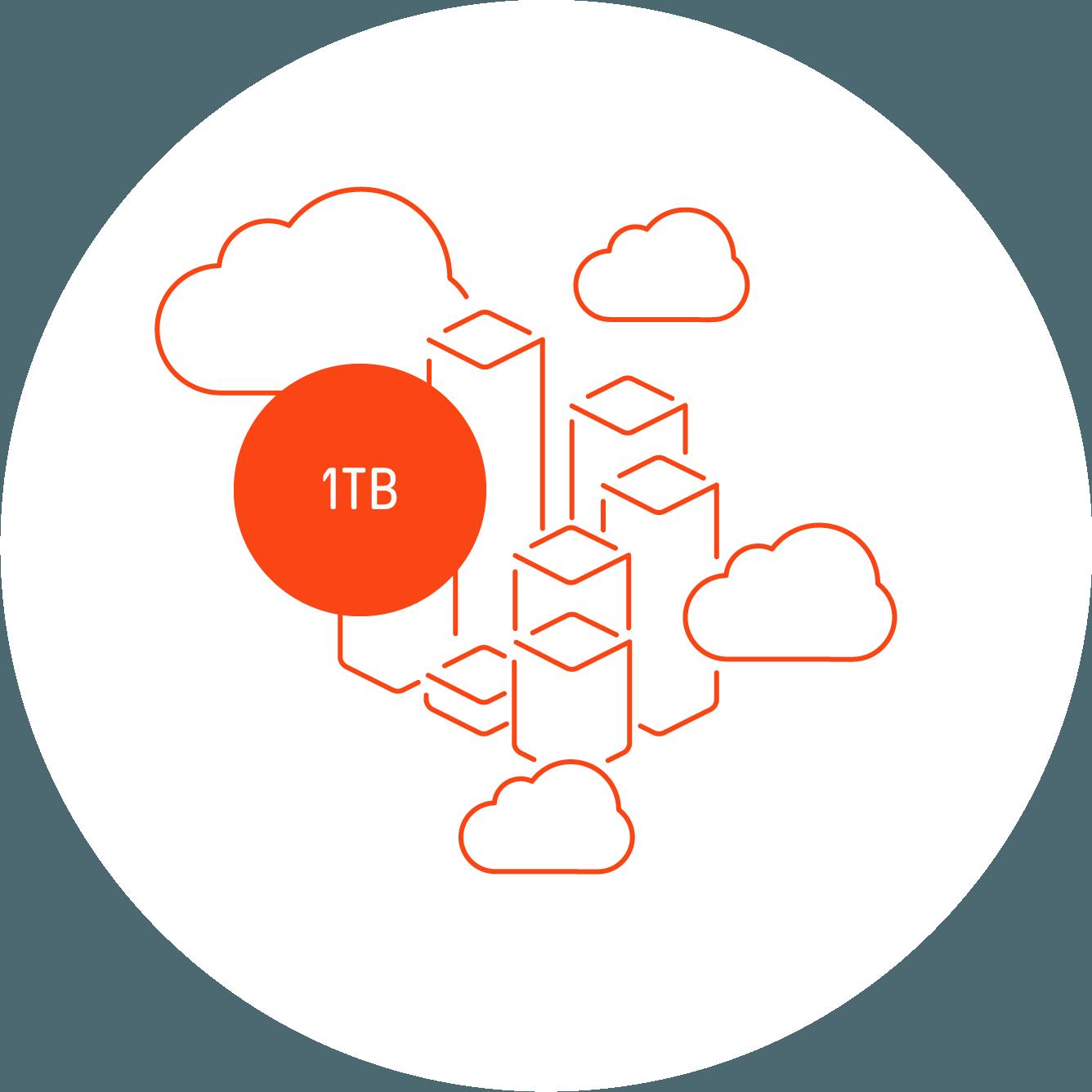 nuutok Advanced 1 TB (3 utilisateurs)